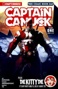 Captain Canuck: Year One FCBD 2017 (Cover A)