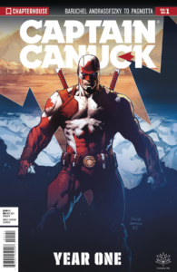 Captain Canuck: Year One FCBD 2017 (Cover D)