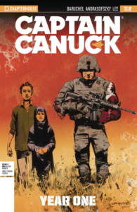 Captain Canuck Year One Book 2 (Cover A)