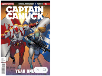 Captain Canuck: Year One FCBD 2017 (Cover C)
