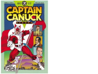Captain Canuck Reborn #0